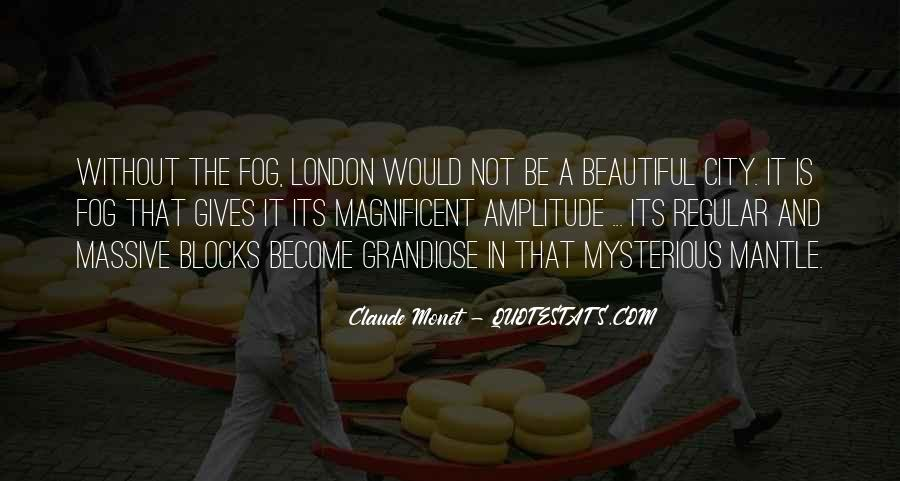 Quotes About Beautiful Cities #1198724