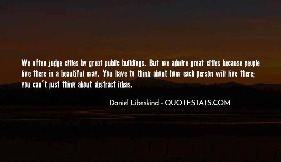 Quotes About Beautiful Cities #1375588