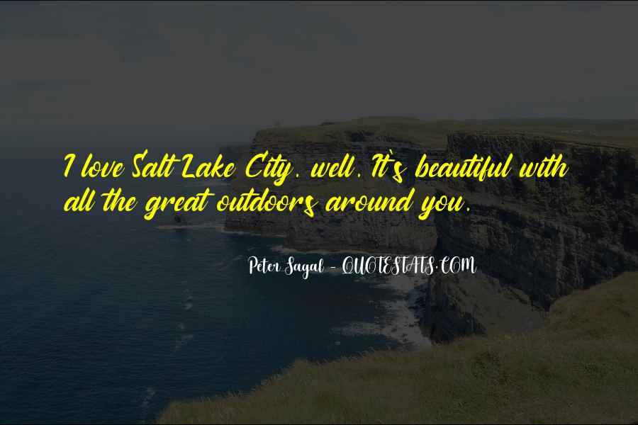 Quotes About Beautiful Cities #151803