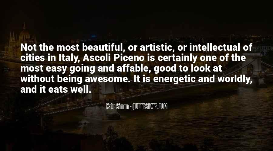Quotes About Beautiful Cities #1627728