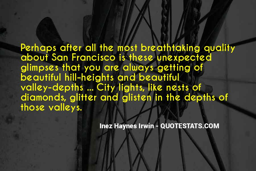 Quotes About Beautiful Cities #1739775