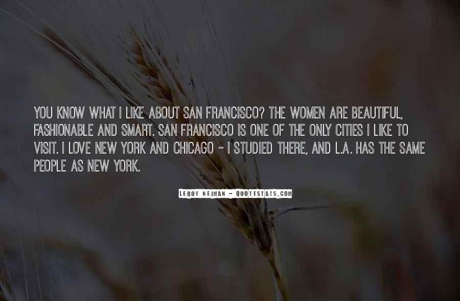Quotes About Beautiful Cities #1836694