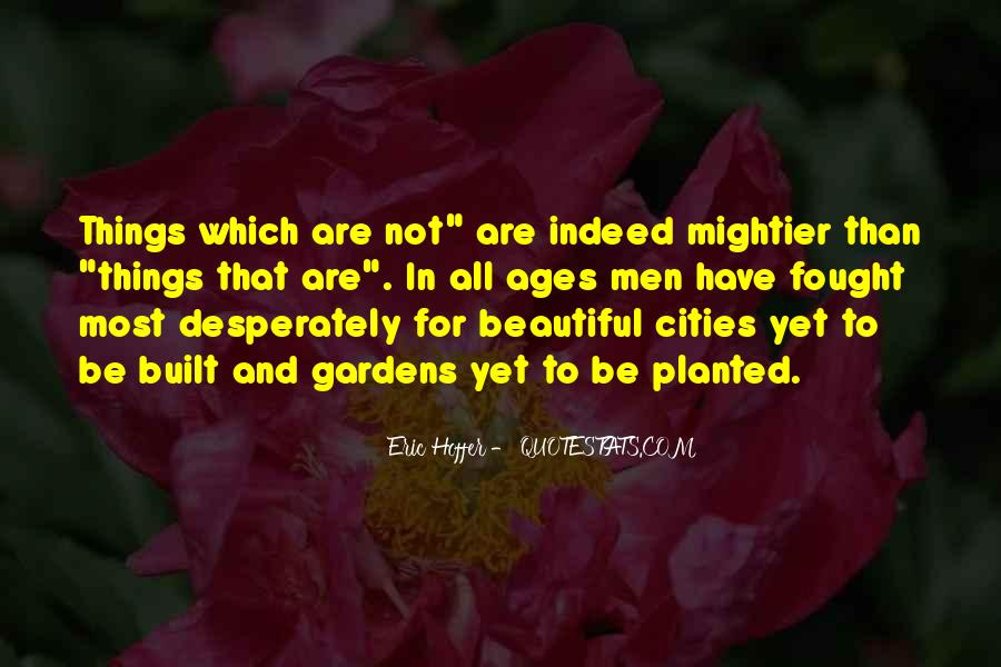 Quotes About Beautiful Cities #204271