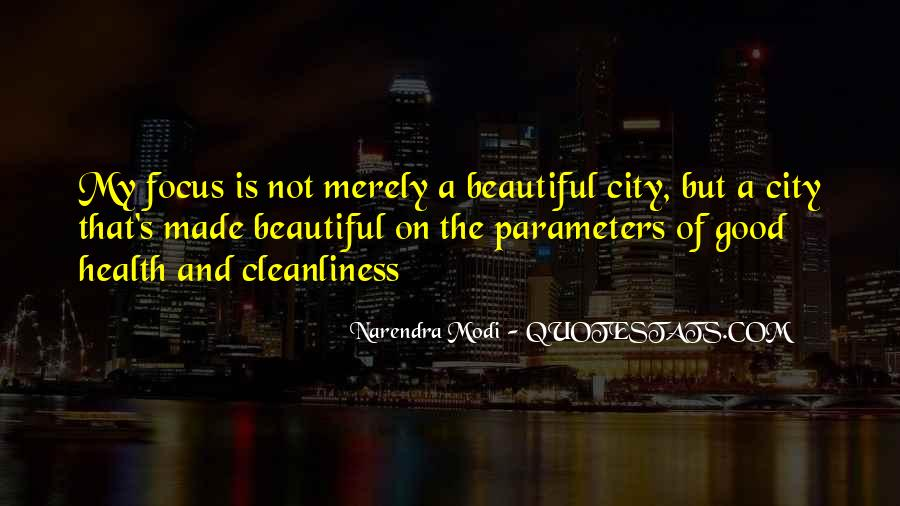 Quotes About Beautiful Cities #420271