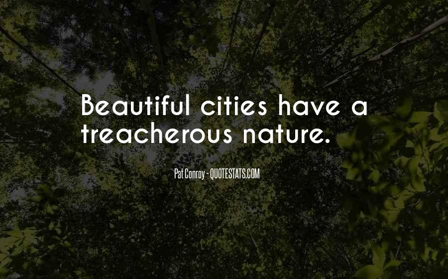 Quotes About Beautiful Cities #429282