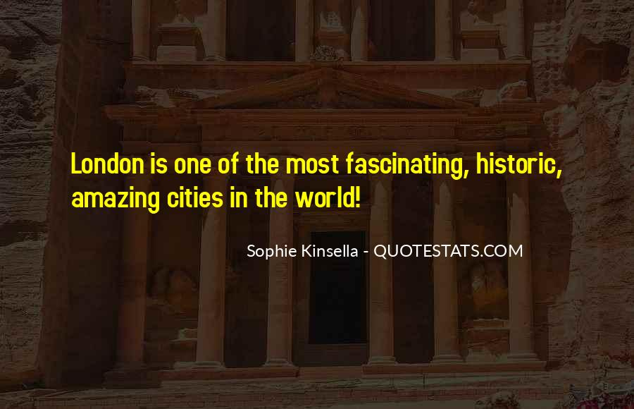 Quotes About Beautiful Cities #685411