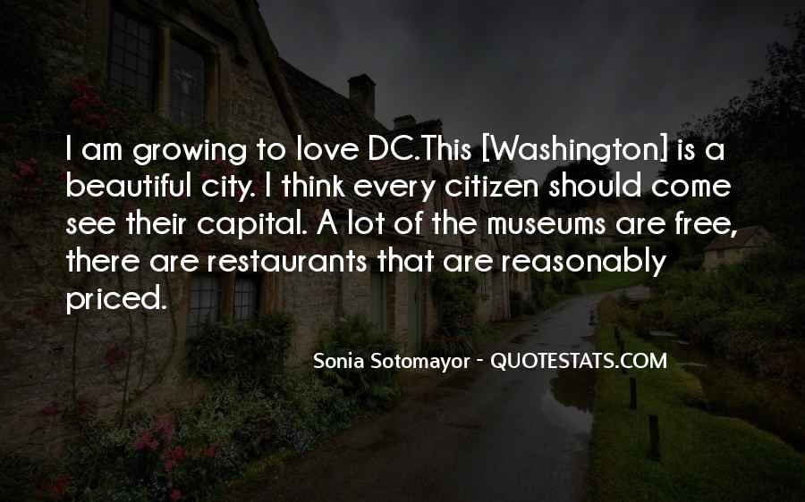 Quotes About Beautiful Cities #788512