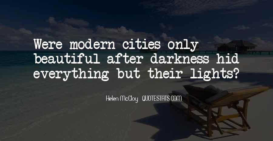 Quotes About Beautiful Cities #872638