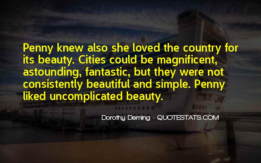 Quotes About Beautiful Cities #879311