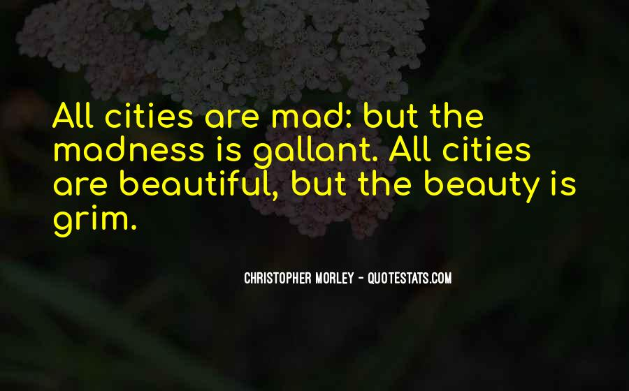 Quotes About Beautiful Cities #964607