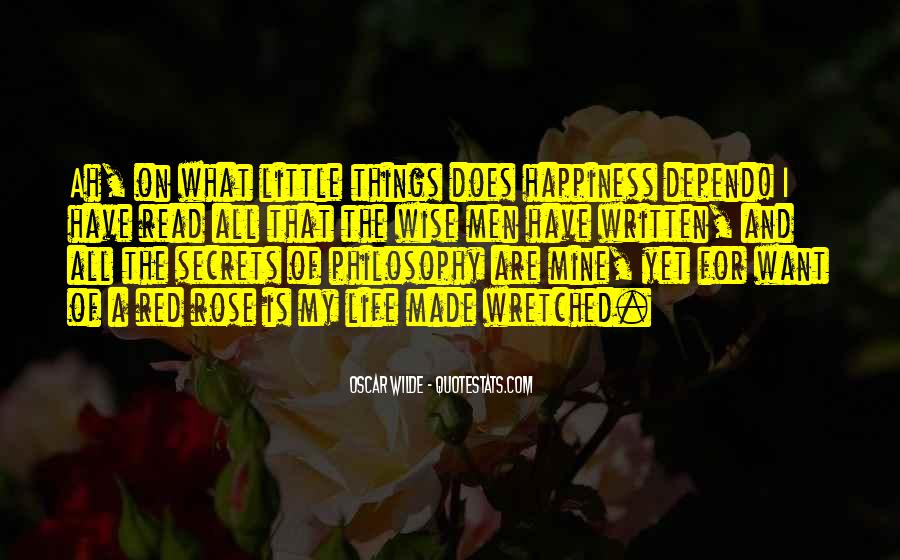 Quotes About Happiness In The Little Things In Life #287104