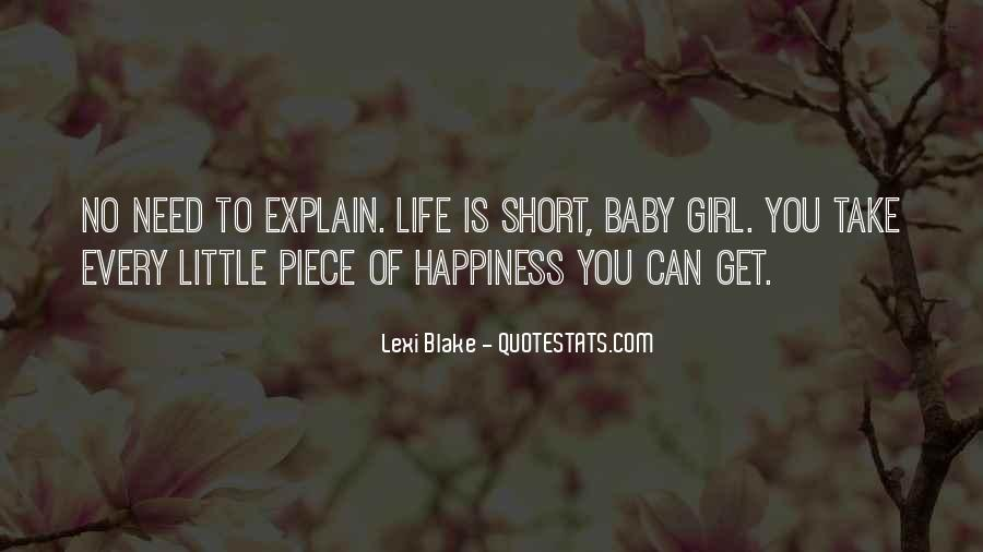 Quotes About Happiness In The Little Things In Life #312481