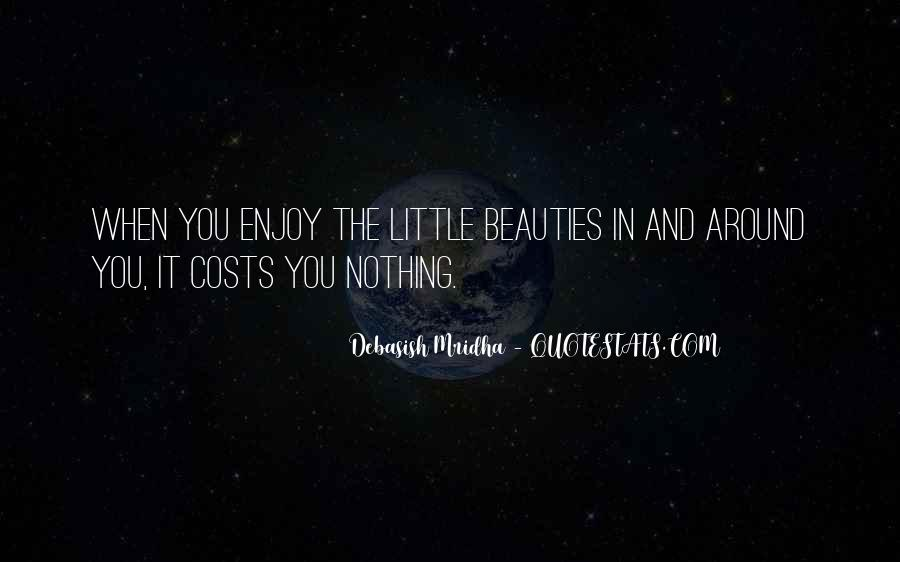 Quotes About Happiness In The Little Things In Life #610311