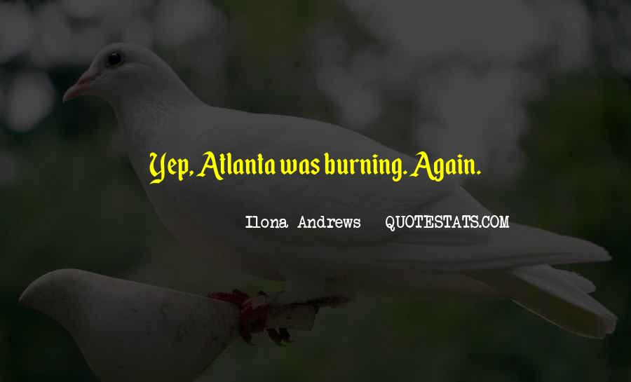 Quotes About Atlanta #17644