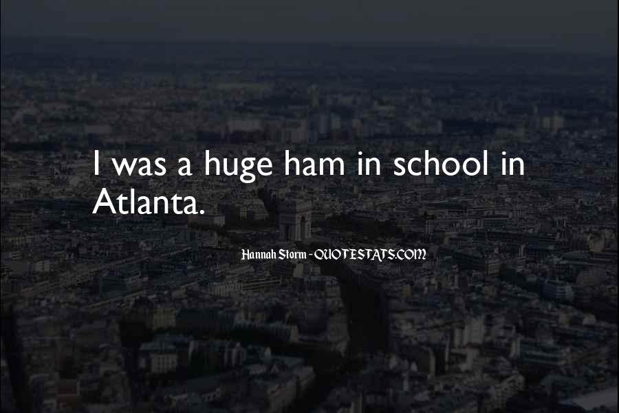 Quotes About Atlanta #194697