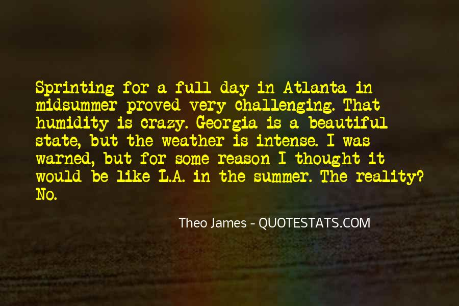 Quotes About Atlanta #197552