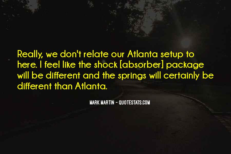 Quotes About Atlanta #204756