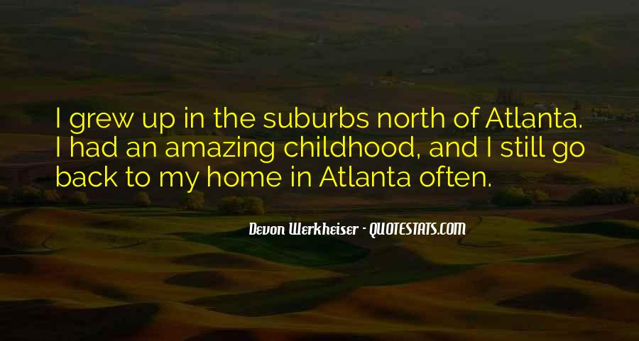 Quotes About Atlanta #381992