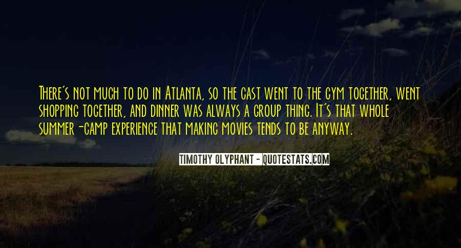 Quotes About Atlanta #54736