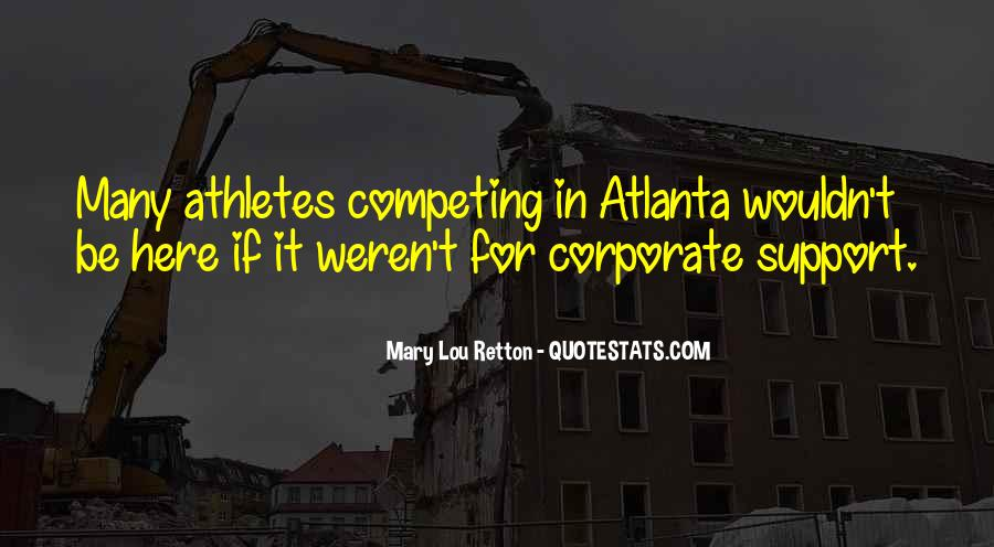 Quotes About Atlanta #584138