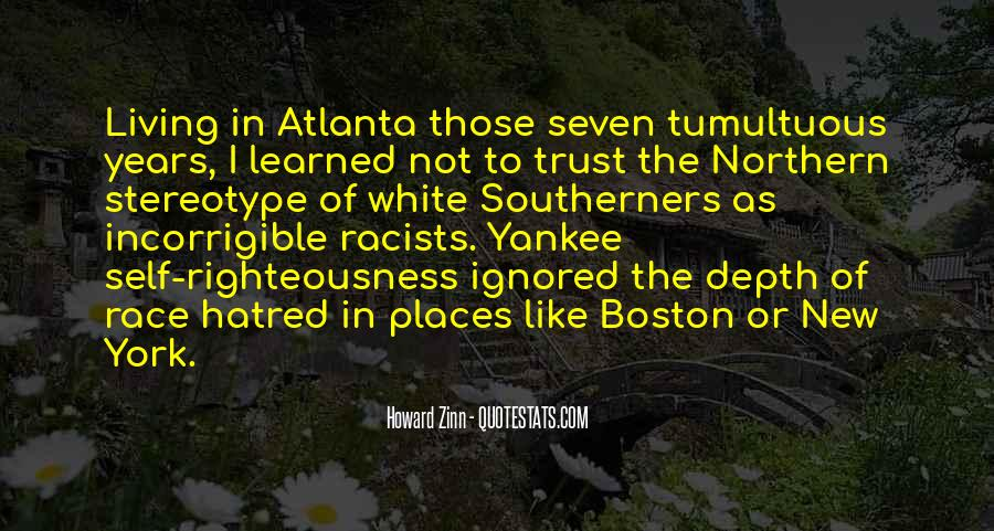 Quotes About Atlanta #838522