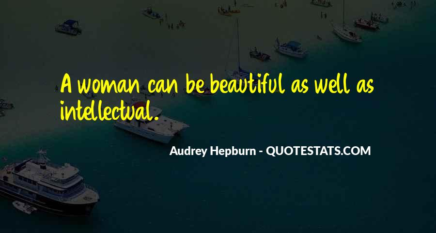 Quotes About Intellectual Woman #1545002