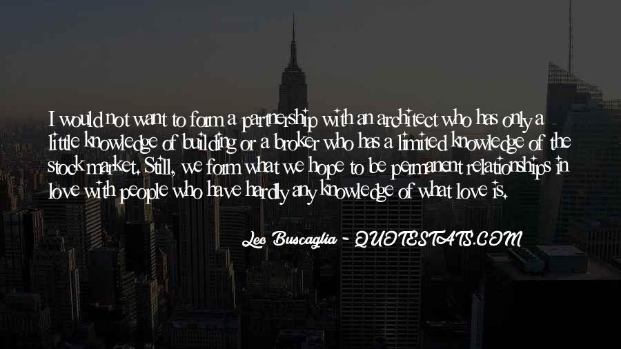 Quotes About Partnership And Love #1106508