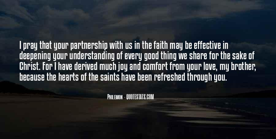 Quotes About Partnership And Love #1198748