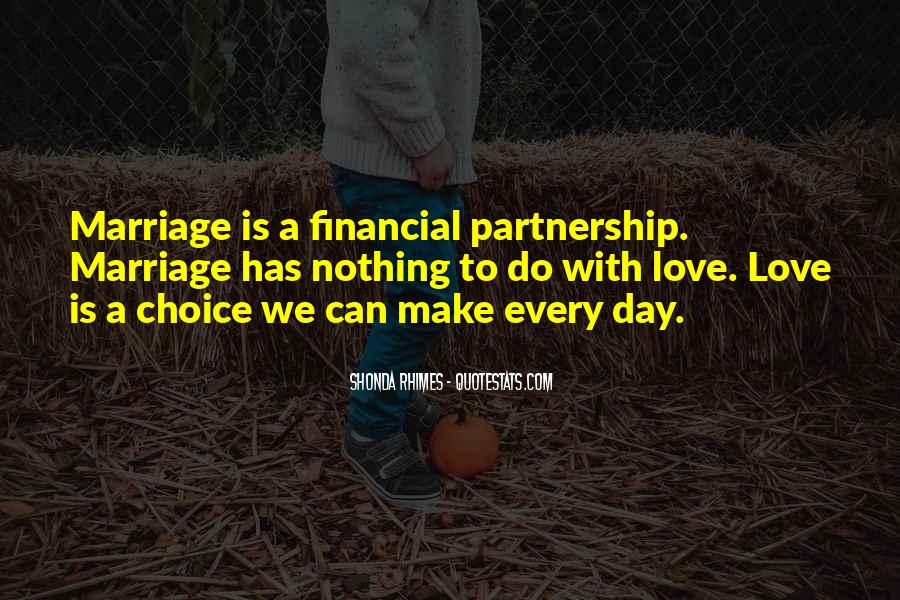 Quotes About Partnership And Love #1454881