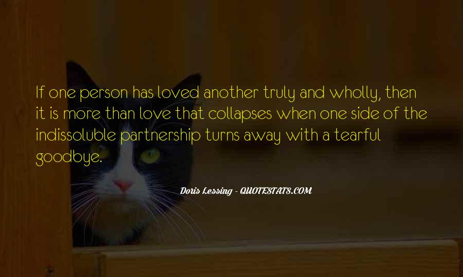 Quotes About Partnership And Love #473173
