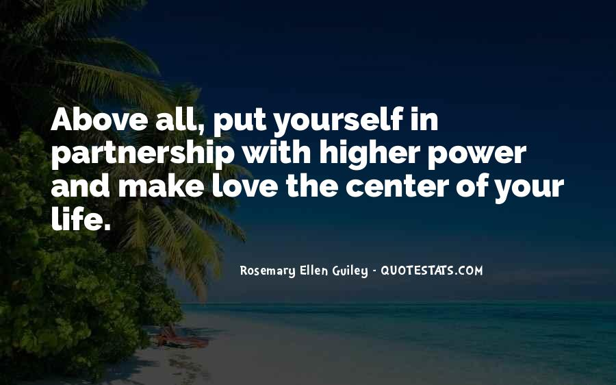 Quotes About Partnership And Love #560708