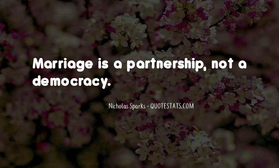 Quotes About Partnership And Love #614260