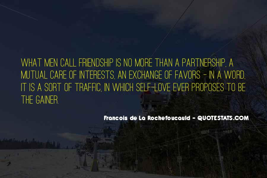 Quotes About Partnership And Love #671359