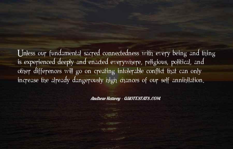 Quotes About Connectedness #1116041