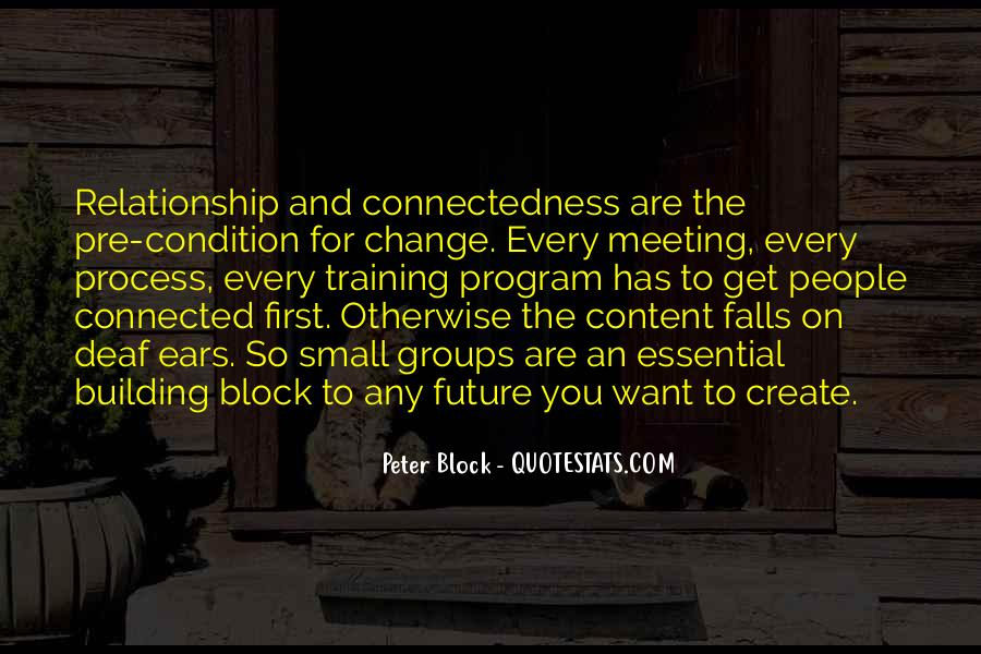 Quotes About Connectedness #1171470