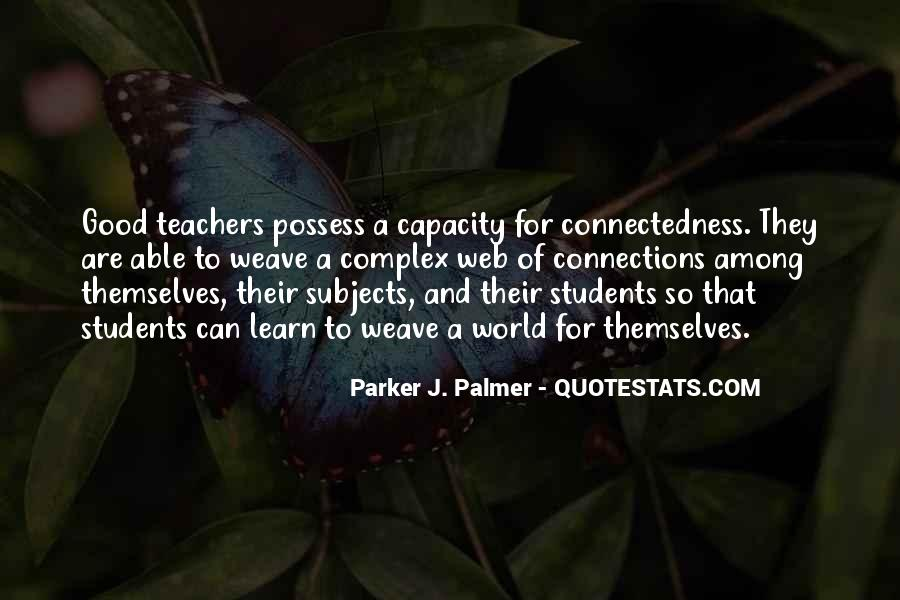 Quotes About Connectedness #1433973