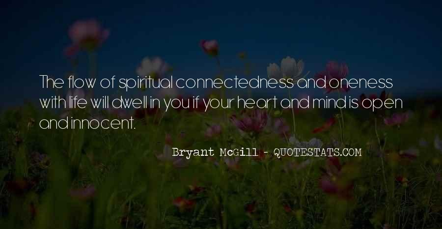Quotes About Connectedness #1549573