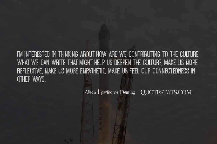 Quotes About Connectedness #227889