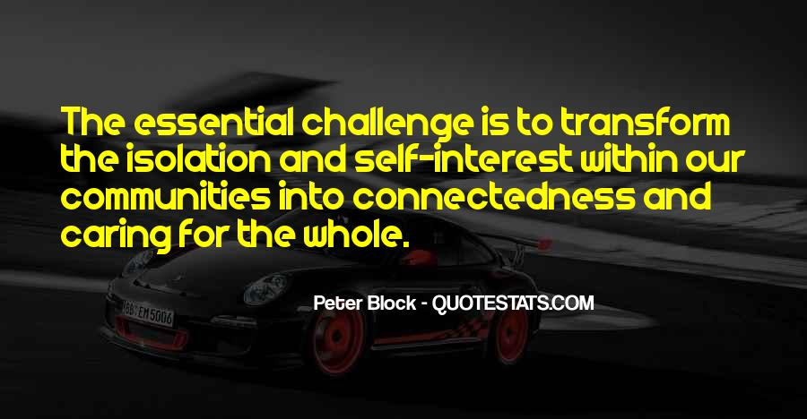 Quotes About Connectedness #255832