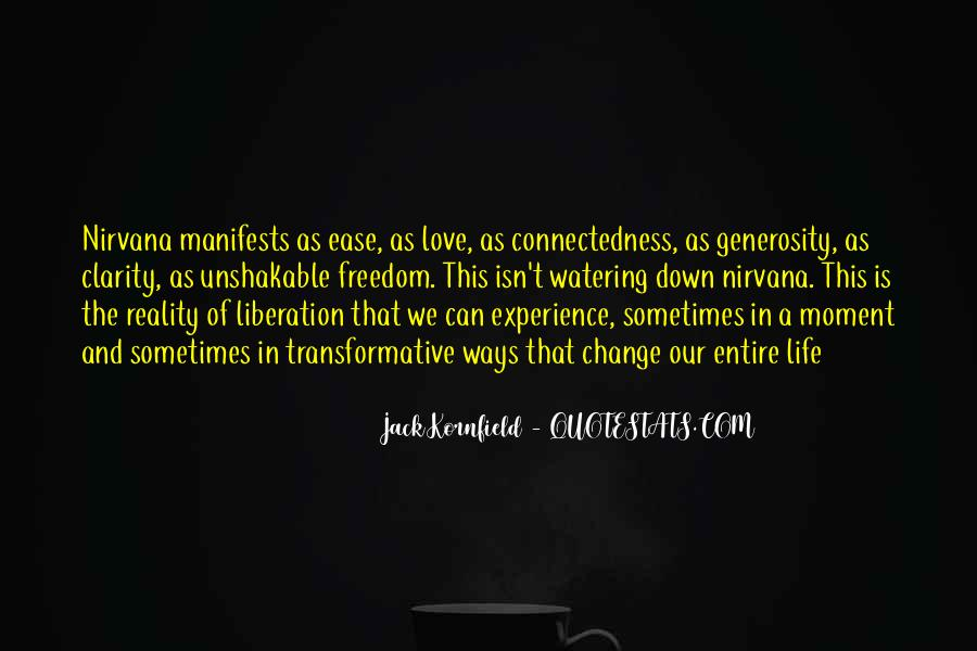 Quotes About Connectedness #337108