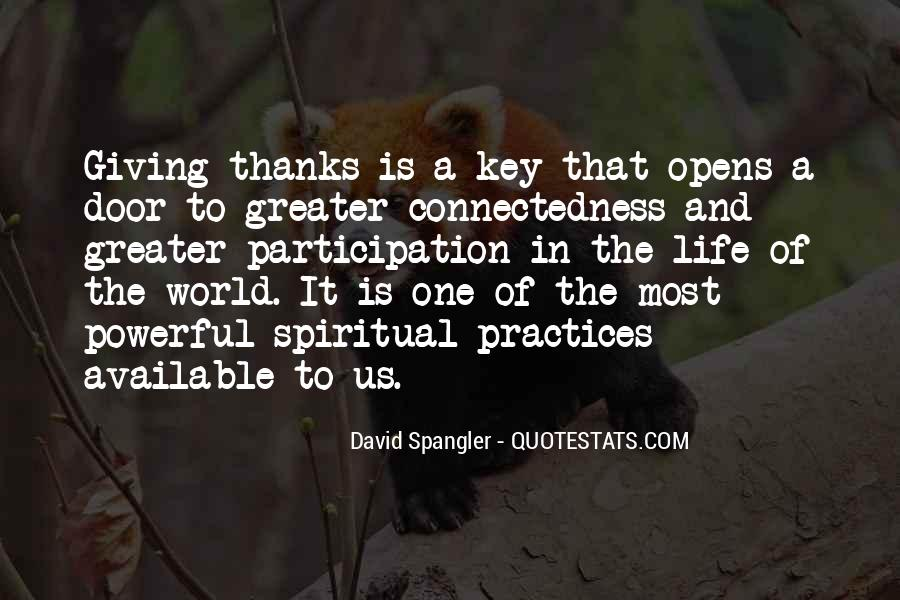 Quotes About Connectedness #955897