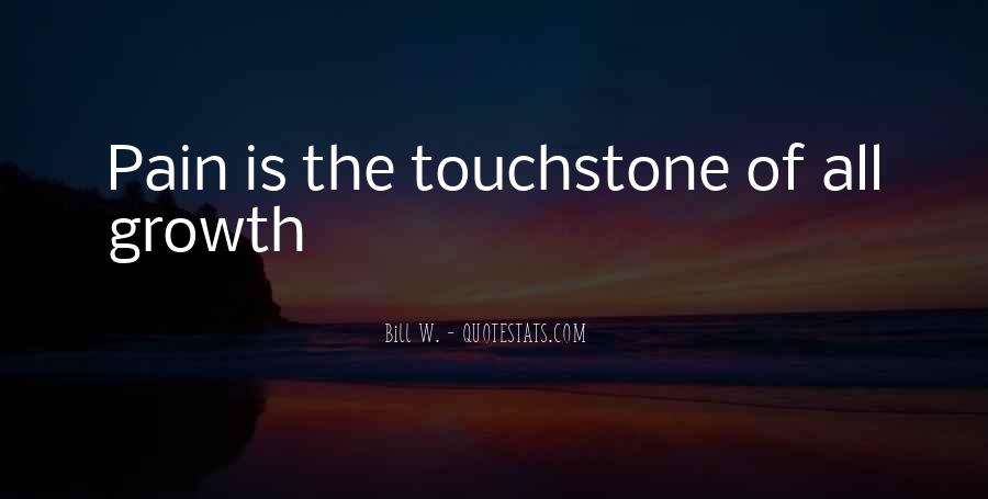 Quotes About Touchstones #1279421