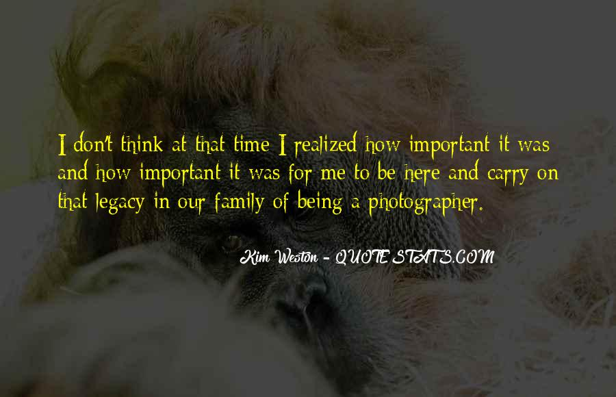 Quotes About Family Legacy #1210615
