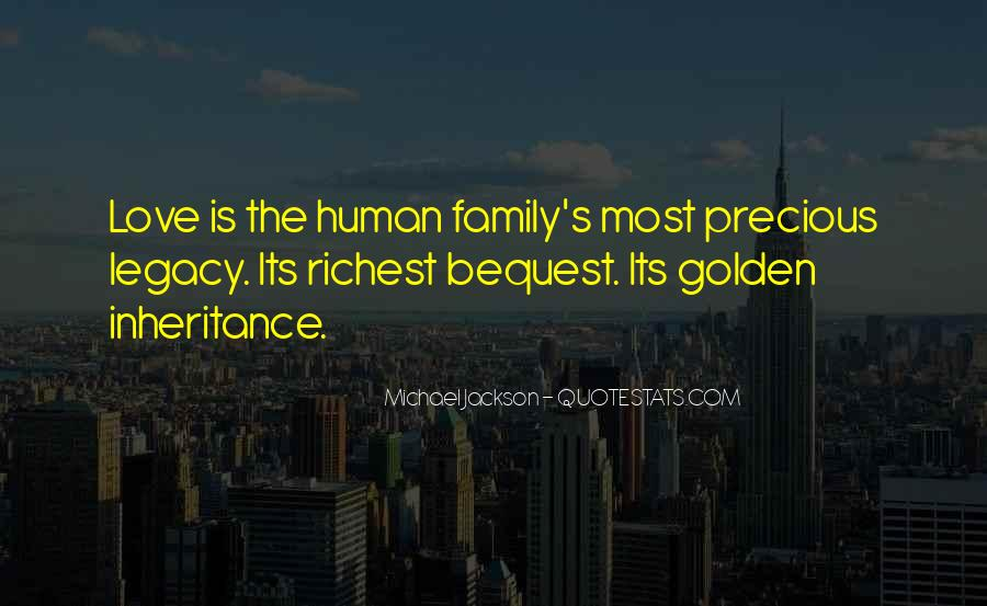 Quotes About Family Legacy #1370489