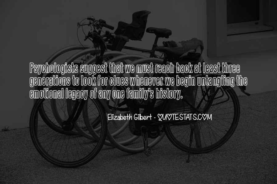Quotes About Family Legacy #1689824