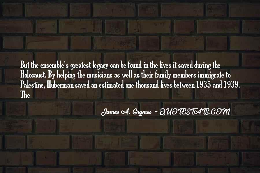 Quotes About Family Legacy #868720