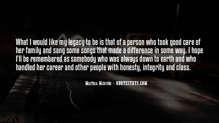 Quotes About Family Legacy #907006