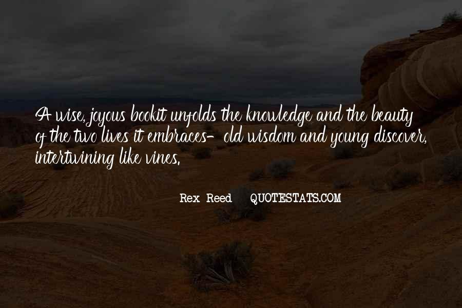 Quotes About Intertwining Lives #558461