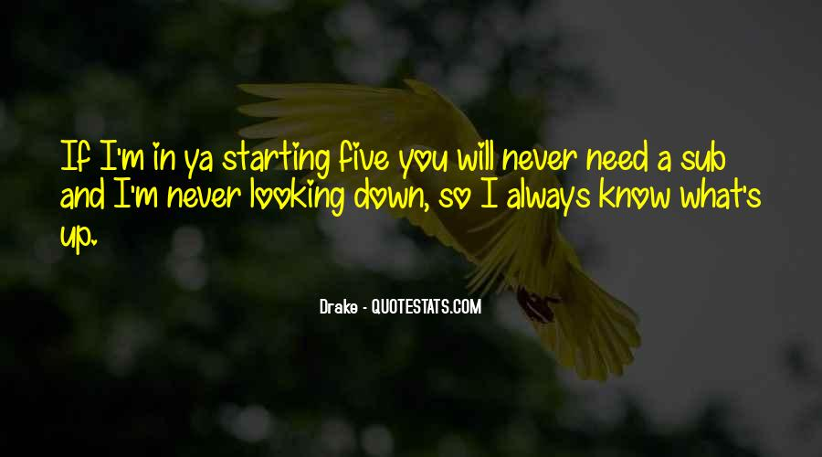 Quotes About Never Looking Down On Someone #2163