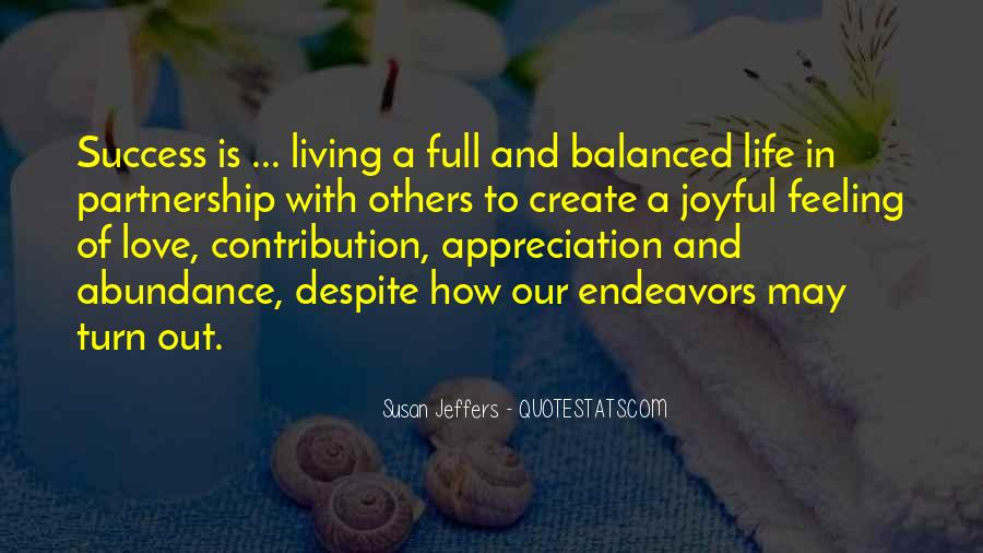 Quotes About Feeling Abundance #244021
